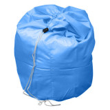 Polyester Laundry Bag Blue